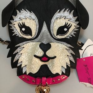 Betsey Johnson Schnauzer Purse Never been used